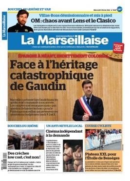 La Marseillaise N°23217 du 03 février 2021 à télécharger sur iPad