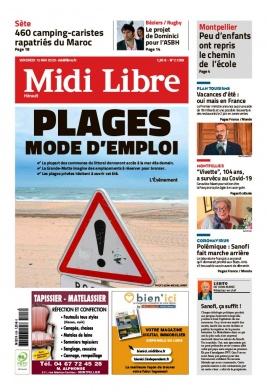 Midi Libre N°20200515 du 15 mai 2020 à télécharger sur iPad