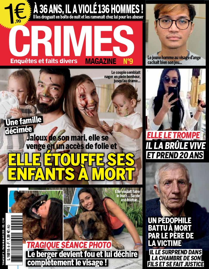 Crimes magazine du 12 février 2020