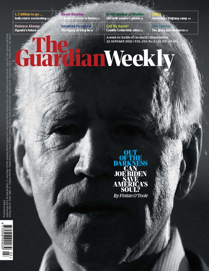 The Guardian Weekly du 22 janvier 2021