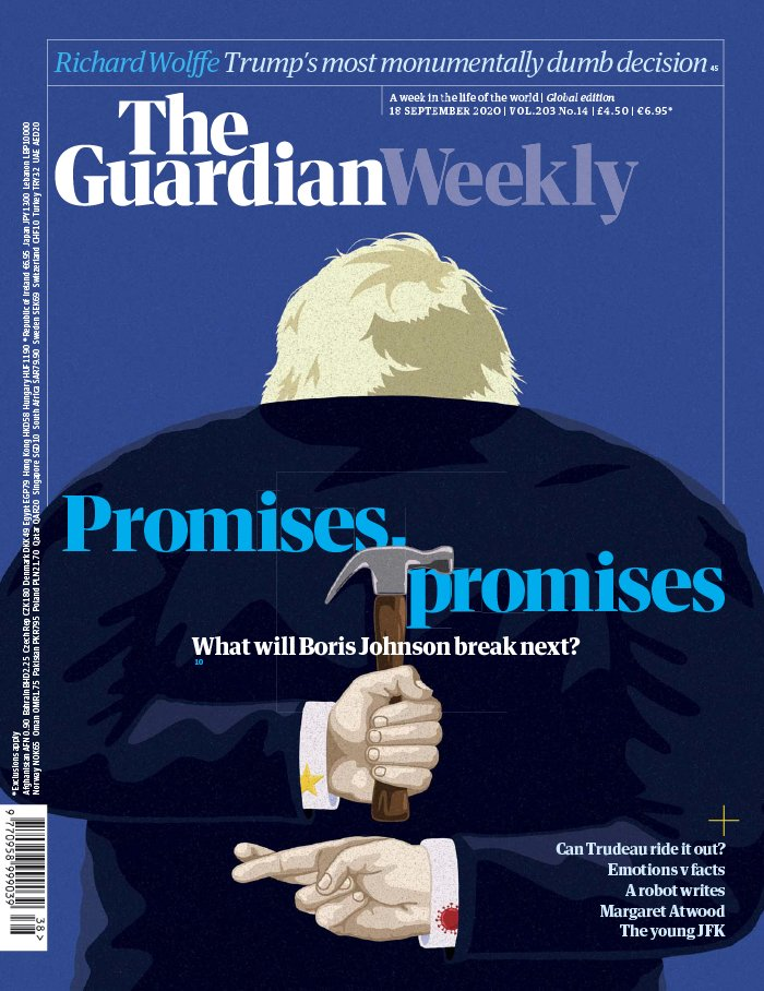The Guardian Weekly du 18 septembre 2020