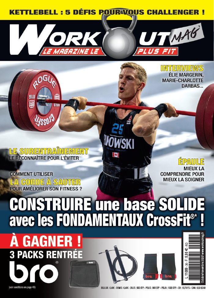 Workout magazine du 02 octobre 2020