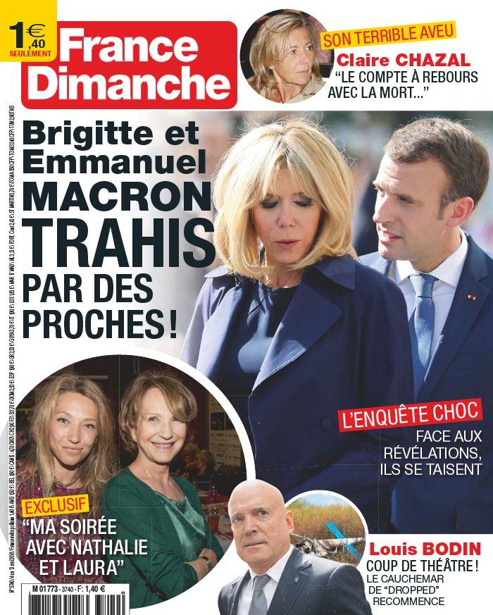France Dimanche N°3740 du 04 mai 2018 à télécharger sur iPad