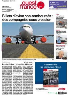 Ouest-France N°20210517 du 17 mai 2021 à télécharger sur iPad