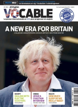 Vocable All English N°478 du 05 septembre 2019 à télécharger sur iPad