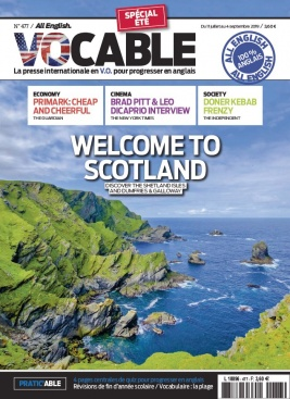 Vocable All English N°477 du 11 juillet 2019 à télécharger sur iPad