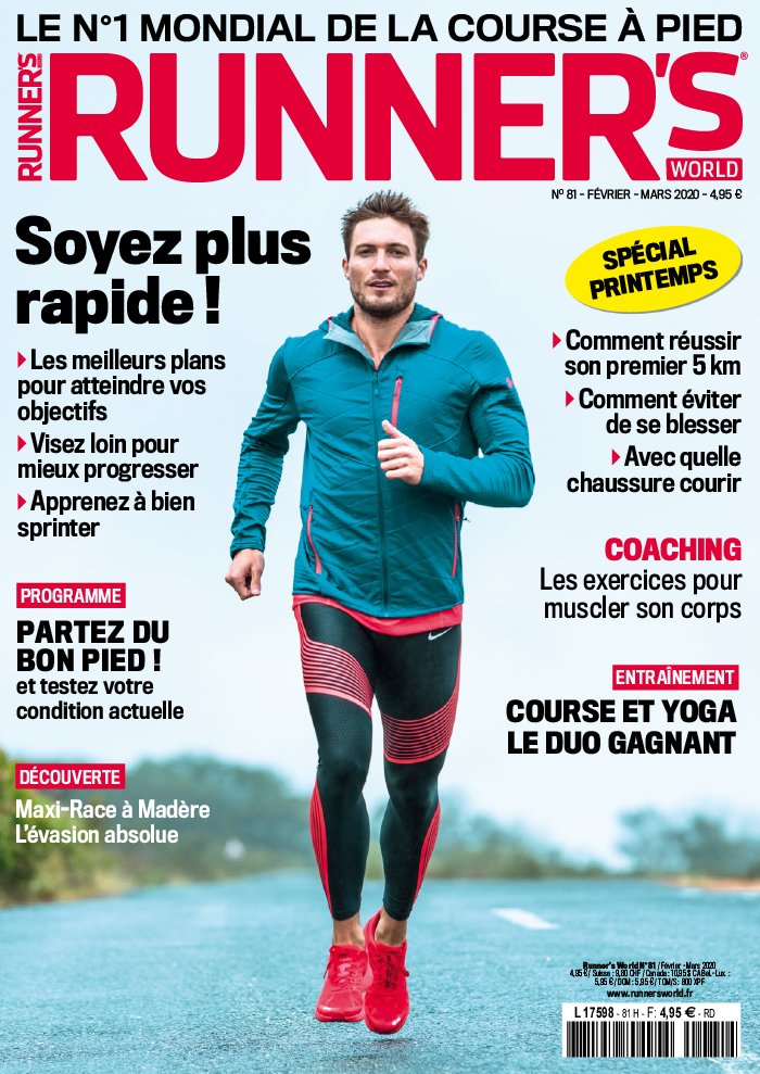 Runner's World du 31 janvier 2020