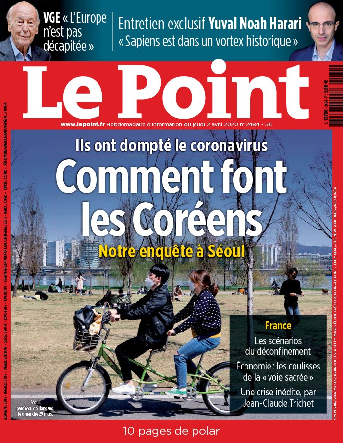 Le Point N°2484 du 02 avril 2020 à télécharger sur iPad