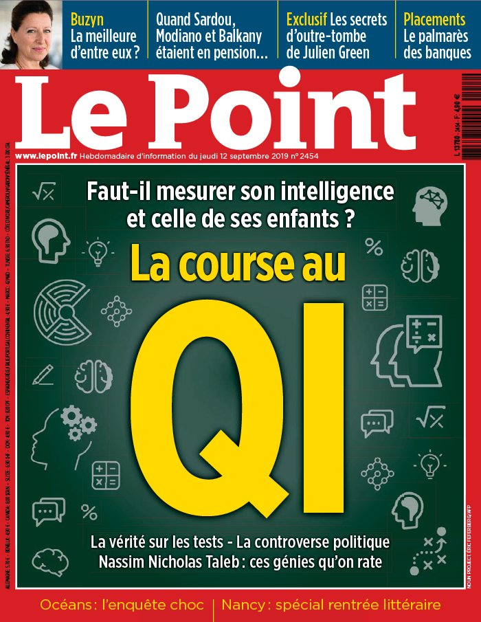 Le Point N°2454 du 12 septembre 2019 à télécharger sur iPad