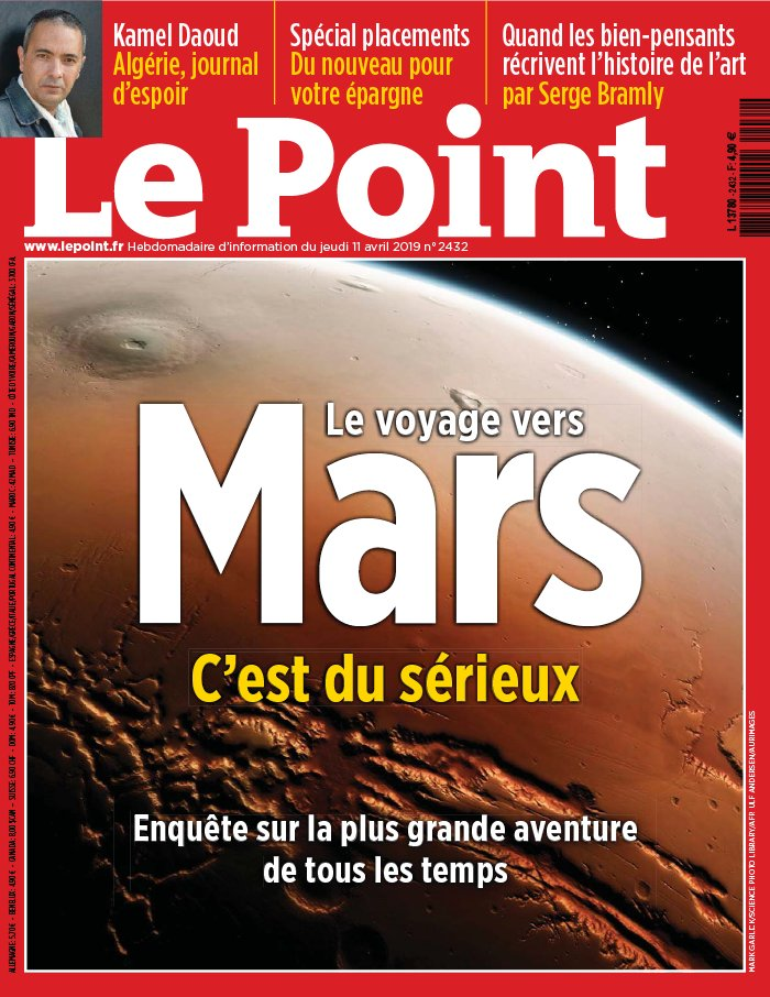 Le Point N°2432 du 11 avril 2019 à télécharger sur iPad